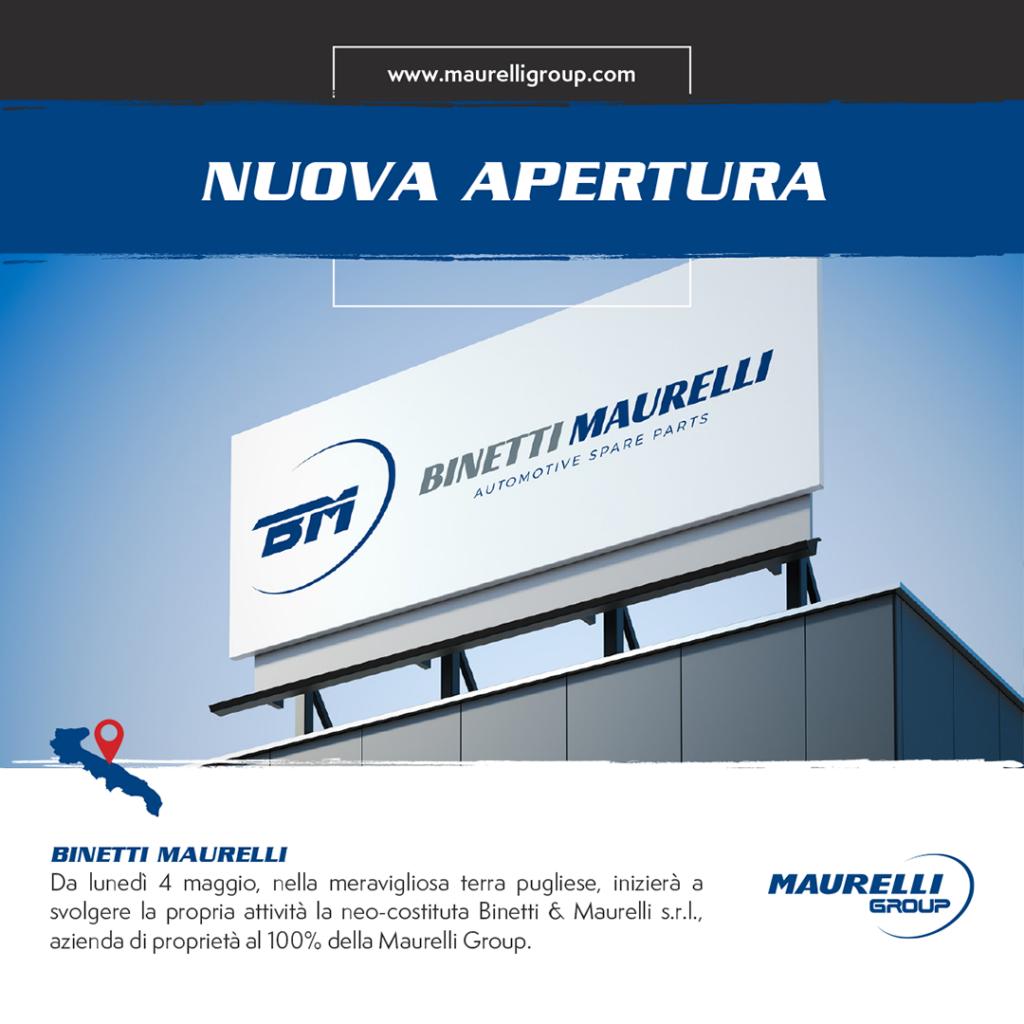 Nuova Apertura Maurelli Group