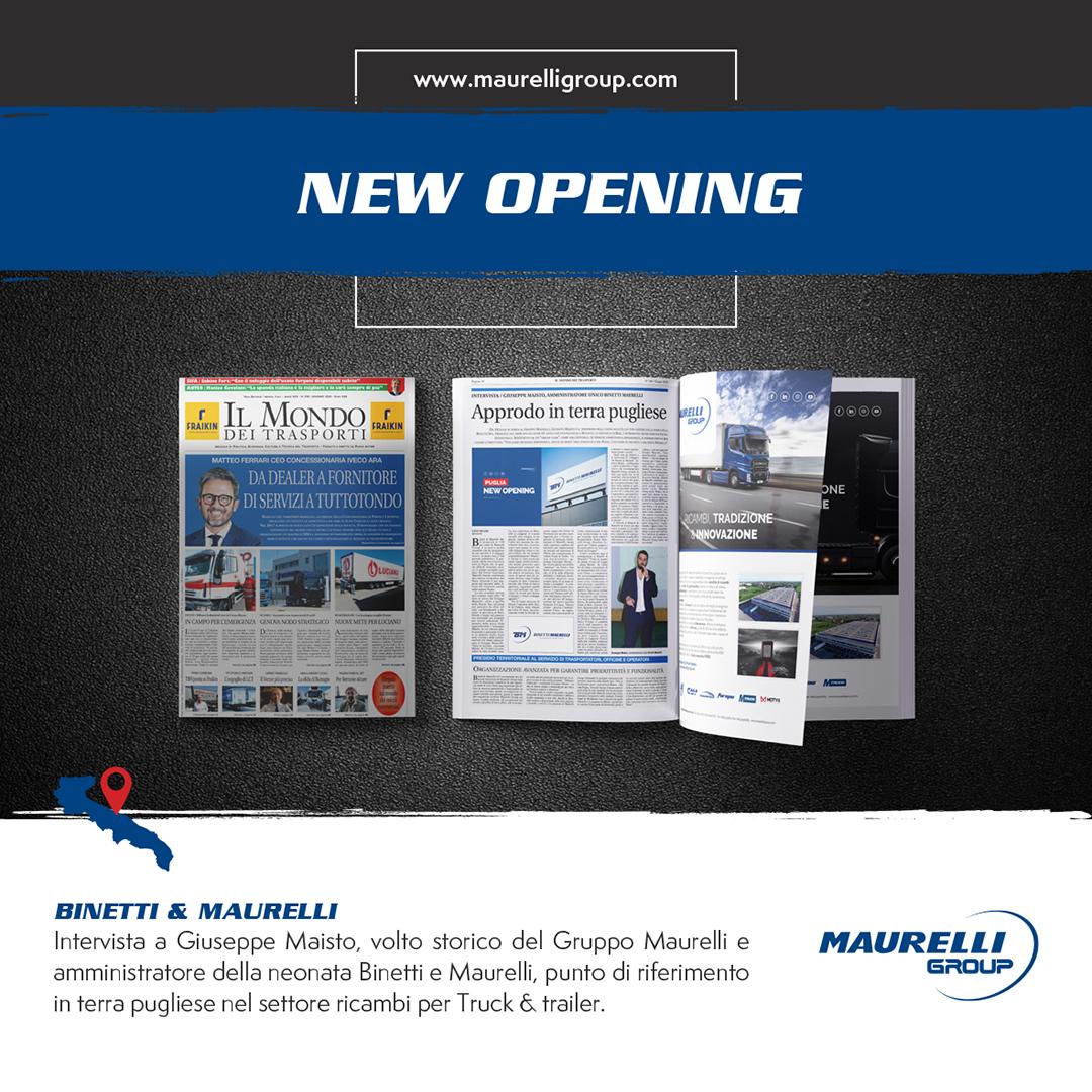 New Opening Maurelli Group