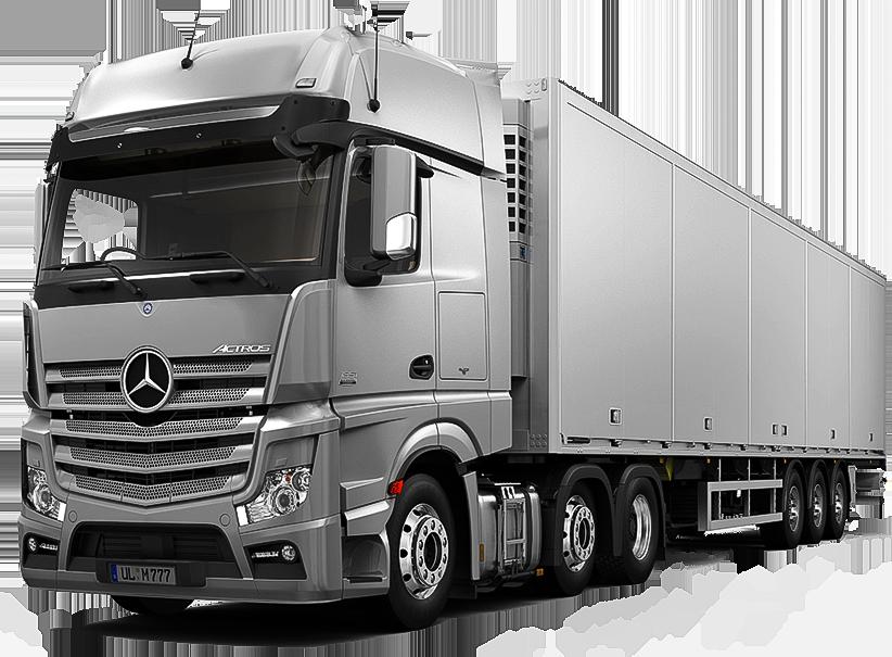 Camion Mercedes Grigio